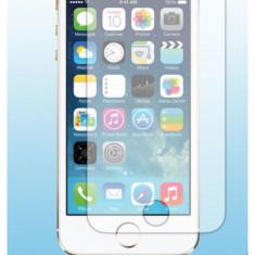 Set 5 folie protectie display smartphone iPhone 5 sau 5s transparent cu laveta degresare Garantia de livrare la plata cu cardul / prin Fan courier - Folie de protectie Apple, Lucioasa