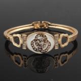 Bratara cristale placat cu aur 14k -ideal cadou