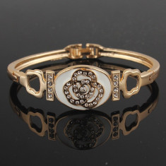 Promotie! Bratara cristale Swarovski placat cu aur 14k -ideal cadou - Bratara Swarovski