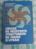 Calcule de rezistenta structurilor de masini si utilaje  I.M.Constantinescu