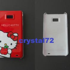 Livrare gratuita! Husa hard case termorezistenta Hello Kitty, pentru SAMSUNG GALAXY S2 I9100 / S2 Plus 9105, foarte draguta + laveta (2)