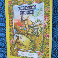 Daniel DEFOE - ROBINSON CRUSOE (editie de lux, cu numeroase ilustratii full-color, in limba franceza - STARE IMPECABILA!!!!) - Carte de lux