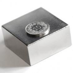 Magnet puternic Neodim 60 Kg forta 40 x 40 x 20 mm generatoare neodymium