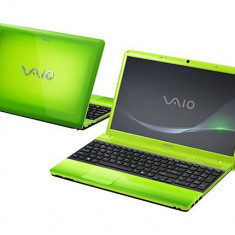 Sony Vaio Caribbean Green Laptop cu procesor Intel CoreTM i3-350M 2.26GHz, 3GB, 320GB, Intel HD Graphics, Windows 7 Home Premium,