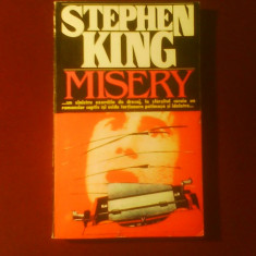 Stephen King Misery, editia princeps - Carte Horror