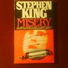 Stephen King Misery, editia princeps - Carte Horror