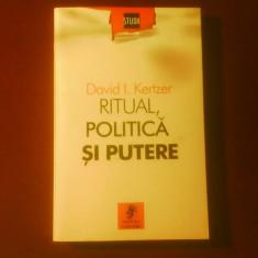 David I. Kertzer Ritual politica si putere - Carte Politica