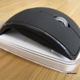 Mouse arc Wireless pliabil + Cutie calatorie Mouse ergonomic, Optica
