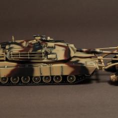 Macheta tanc M1A1 Abrams mine roller Louisiana - 1998 WAR MASTER scara 1:72