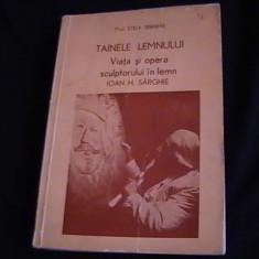 TAINELE LEMNULUI-VIATA SI OPERA SCULPTORULUI-IN LEMN-IOAN N. STINGHIE- - Carte amenajari interioare