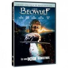 Beowulf-2007 - Film animatie warner bros. pictures, DVD, Romana