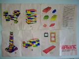 Joc vechi tip  LEGO - VARIANT - Joc de constructii, perioada anilor ' 80, 8-10 ani, Unisex