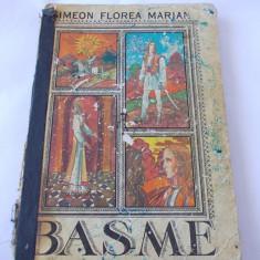 Basme - Simeon Florea Marian -ilustratii de Teodor Bogoi , O CARTE VECHE !