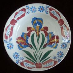 Farfurie din portelan marcata Wilhelmsburg de la sfarsitul anilor1800.Reducere! - Arta Ceramica