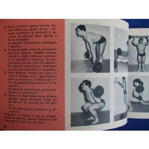 LAZAR BAROGA - CULTURISM * PROGRAME - BUCURESTI - 1970*