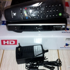 Receptor / Receiver / Decodor satelit ROMTELECOM Dolce HD - MODEL NOU
