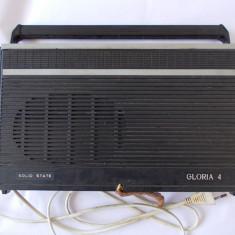RADIO GLORIA 4, TEHNOTON, FUNCTIONEAZA, DAR MAI TREBUIE VERIFICAT ! - Aparat radio