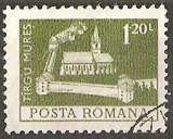 TIMBRE 103g, ROMANIA, MONUMENTE,1973, CETATEA DIN TARGU MURES, 1,20 LEI, STAMPILAT; TEMA : ARTA, MONUMENT, ARHITECTURA , CONSTRUCTIE