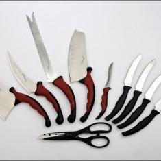 SET CUTITE CONTOUR PRO V KNIVES + CADOU SUPORT MAGNETIC CUTIT - Cutit bucatarie