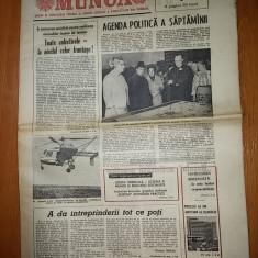 Ziarul munca 16 mai 1975 ( interesul lui ceausescu fata de conceptia urbanistica a ansamblului de locuinte drumul taberei )