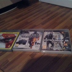 Vand jocuri PS3 [Battlefield Bad Company 2 + God of War III + Crysis 2]