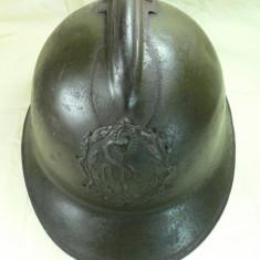 CASCA MILITARA FRANCEZA - MODEL  26 ADRIAN - DUPA NUMELE  GEN. FRANCEZ AUGUST LOUIS ADRIAN - MODEL ASEMANATOR CU M15 FOLOSIT DE ARMATA ROMANA IN WW1