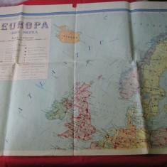 Harta veche politica Europa - nord vestul Europei