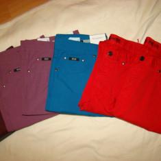 Hugo Boss Jeans - Pantaloni barbati Hugo Boss, Marime: 31, 32, 33, 35, 36, 38, Culoare: Albastru, Bleumarin, Gri, Khaki, Mov, Negru, Rosu, Marime: 31, Rosu, Lungi