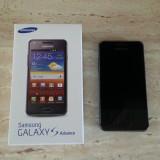 Vand telefon Samsung Galaxy S Advance I9070 - Telefon mobil Samsung Galaxy S Advance, Negru, 8GB, Vodafone