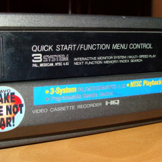 VIDEO PLAYER / RECORDER VHS Made in Japan / pentru piese - Media player