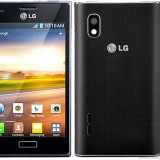 Vand LG optimus l5, incarcator+card - Telefon mobil LG Optimus L5, Negru, Neblocat
