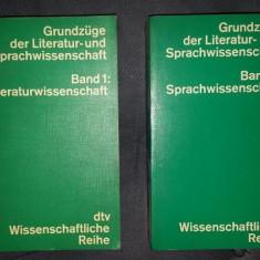 Grundzuge der Literatur und Sprachwissenschaft dtv 1975 - Eseu