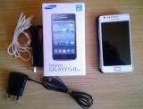 Vand/Schimb Samsung Galaxy S2 Plus impecabil, 8GB, Alb, Neblocat