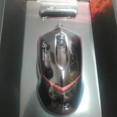 Mouse gaming ASUS GX1000 silver