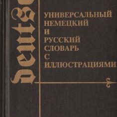 DICTIONAR UNIVERSAL ILUSTRAT GERMAN SI RUS - DEUTSCH UND RUSSISCH { 1994, 754 p.} Altele