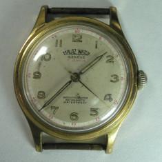 MALAZ WATCH GENEVE - VINTAGE - CEAS ELVETIAN DE COLECTIE - MODEL ANII 1960 - DIAMETRUL 34 MM - STARE DE FUNCTIONARE - Ceas de mana