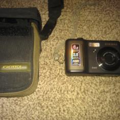 Vand Camera foto Samsung D60 - Aparat Foto compact Samsung, Compact, 8 Mpx, 5x, 2.5 inch