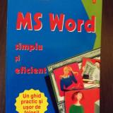 MS WORD - SIMPLU SI EFICIENT - CRISTINA PERHINSCHI, PETRONELA ILUCA - NOU