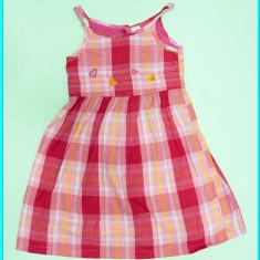PRACTICA _ Rochie / rochita vara, panza bumbac, C&A _ fetite | 6 - 7 ani | 122, Marime: Alta, Culoare: Roz