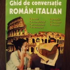 GHID DE CONVERSATIE ROMAN-ITALIAN - DRAGOS COJOCARU - NOU - Curs Limba Italiana