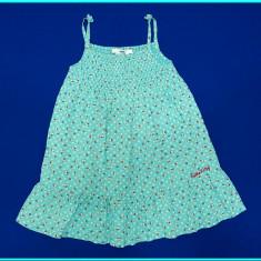 DE FIRMA→ Rochie vara, panza bumbac, Hello Kitty, H&M → fete | 3—4 ani | 104 cm, Marime: Alta, Culoare: Bleu