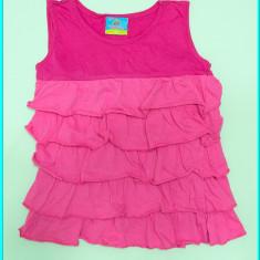 FRUMOASA _ Bluza / bluzita de vara, din bumbac, TOPOLINO _ fetite | 6 - 7 ani, Marime: Alta, Culoare: Roz, Fete