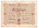 UNGARIA 5 forint gulden 1848 U