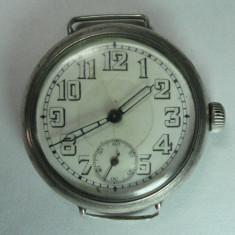 VECHI CEAS DIN ARGINT - MODEL INCEPUTUL ANILOR 1900 - ARGINT MARCAT - Ceas de mana