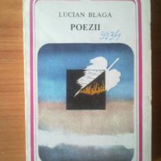 h0 Lucian Blaga - Poezii