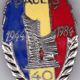 Insigna aniversara PAULIS 1944-1984
