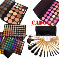 Trusa Machiaj 180 culori Fraulein38 Rainbow + 24 Pensule + 20 Concealer + CADOU - Trusa make up