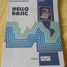HELLO BASIC - LUMINITA STATE