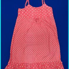 FRUMOASA _ Rochie bumbac, bretele reglabile, Y-STAR _ fete | 7 - 8 ani | 128, Marime: Alta, Culoare: Roz