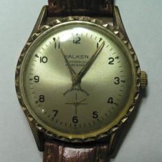 FALKEN - VINTAGE - CEAS BARBATESC DE COLECTIE - MODELUL ANILOR 1970 - STARE DE FUNCTIONARE - Ceas de mana